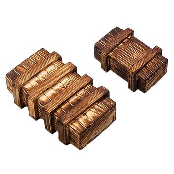 Magic Compartment Wooden Puzzle Box With Secret Drawer Educational Toys Children Gift Brain Teaser Baby Kids Toys