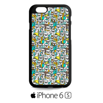 Pug Pattern iPhone 6S  Case