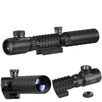 A 3-9x32 EG Hunting Scope Red /Green Dot Illuminated Sight Tactical Sniper Scopes W 11mm/22mm For Air Gun