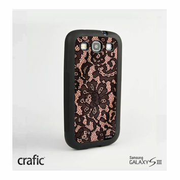Blush Lace Case Samsung i9300 Galaxy S3 III