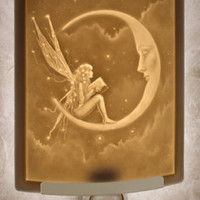 The Porcelain Garden - The Story Fairy - Lithophane Night Light