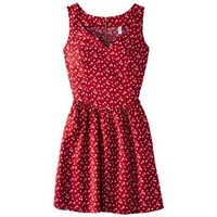 Target : Xhilaration® Juniors Half Zip Tie Back Fit and Flare Dress - Assorted Colors and Prints : Image Zoom