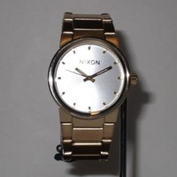 Permanent Vacation Skate & Surf Shop   Nixon Cannon Champagne Gold/Silver