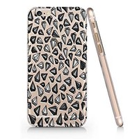 Amazon.com: Diamond Pattern Slim Iphone 6 Case, Clear Iphone Hard Cover Case For Apple Iphone 6 Emerishop (AH1079): Cell Phones & Accessories