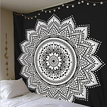 Flower Mandala Cloth Tapestry