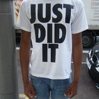 Lo Key — Just Did It T/Shirt