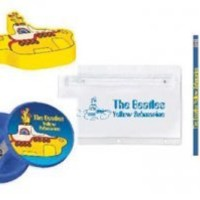 Beatles Yellow Submarine Pencil Case and Accessories
