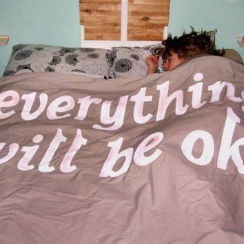 Comforter; aka Everything Will Be OK Blanket |  Keetra Dean Dixon