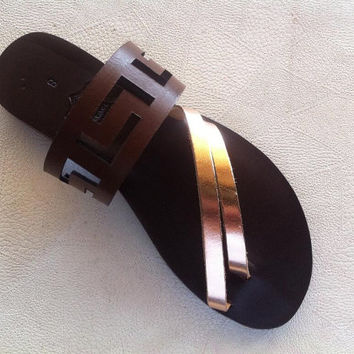 meander sandals,ancient greek sandals,leather sandals,women's shoes,greek sandals,handmade sandals,gifts
