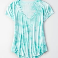 AE Soft & Sexy V-Neck T-Shirt, Teal