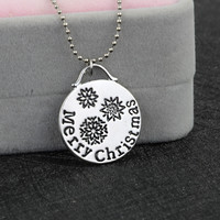 Gift Stylish Shiny New Arrival Jewelry Korean Christmas Necklace [9609076559]