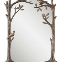 Uttermost Perching Birds Small Decorative Mirror - 12789