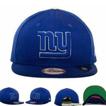 DCCKUN7 New York Giants Nfl Cap Snapback Hat - Ready Stock