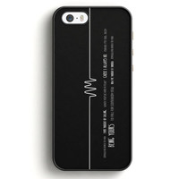 Arctic Monkeys Do I Wanna Know Black And Blue iPhone 5|5S Case | Aneend