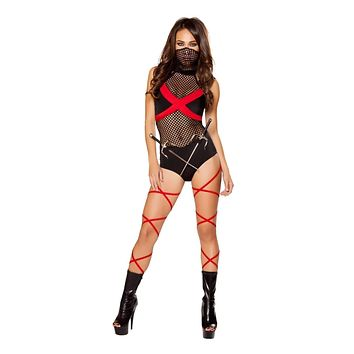 Roma Costume 10062 - 2pc Ninja of Darkness