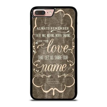 THE AVETT BROTHERS QUOTES iPhone 8 Plus Case Cover
