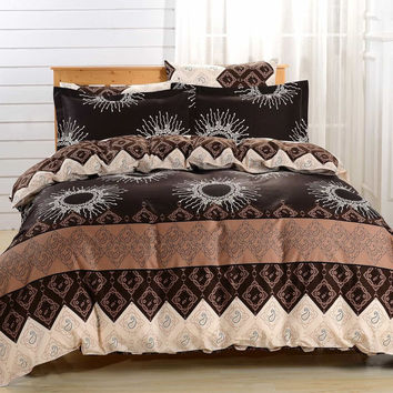 Duvet Cover Sheets Set, Dolce Mela Cabrera Queen Size Bedding