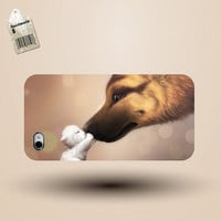 unique iphone case, i phone 4 4s 5 case,cool cute iphone4 iphone4s  5 case,stylish plastic rubber cases cover,animal  dog sweet   p961