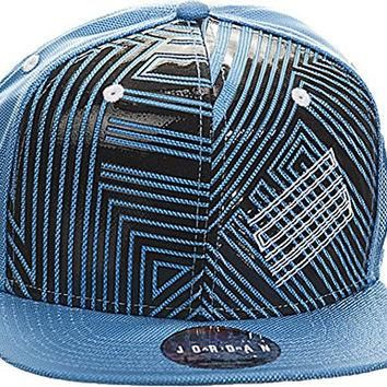 Nike Mens Jordan XI Sneaker+ Cap Legned Blue/Black/White 631666-448