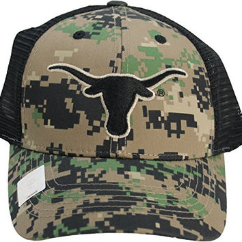 NCAA University of Texas Longhorns Digi-Camo One-Fit Adjustable Hat
