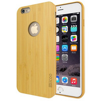 Nature Bamboo Slim TPU Case for iPhone 6\6s Plus