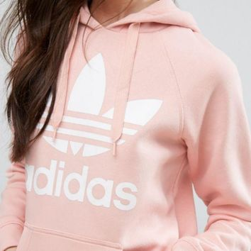 DCKKID4 Adidas Fashion Casual Print Women's Long Sleeve Hoodies Sweater
