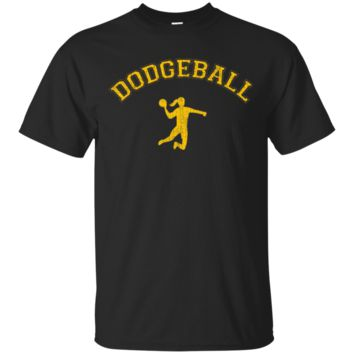 Classic CollegeStyle Dodgeball Woman TShirt Hoodie