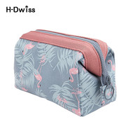 HDWISS Free Ship Large Capacity Fashion Travel Toiletry Bag Women Cosmetic Bags Necessaries Makeup Organizer Make Up Bag CB020