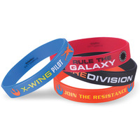 Star Wars 7 Rubber Bracelets
