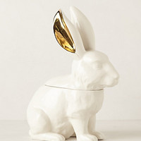 White Rabbit Cookie Jar