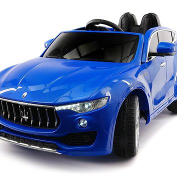 Maserati Levante 12V Kids Ride-On Car With R/C Parental Remote