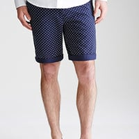 Polka Dot Chino Shorts