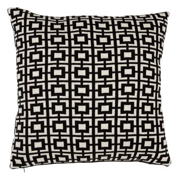 Black and White Pillow (Set of 2) | Eichholtz Abstract