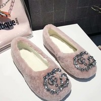 Gucci Woman fashion buttercup shoes