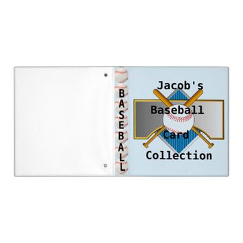 Baseball Card Collection Binder