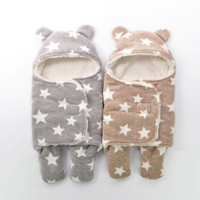 Baby Blankets Newborn Super Soft Autumn Winter Upset Babys Package Swaddling Baby Products Swaddle Wrap Nursling Sleeping Plush