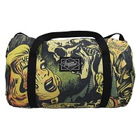 Liquorbrand Horror B Movie cartoon Oversized Duffel Bag