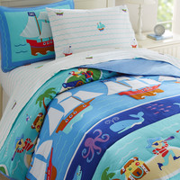 Olive Kids Pirates Twin Comforter - 11415