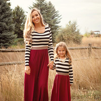 Mommy Treasure Island Burgundy Maxi