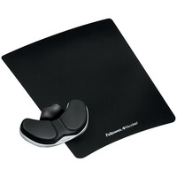 Fellowes 8037501 Wrist Support Mouse Pad Leatherette W/Gliding Palm Support
