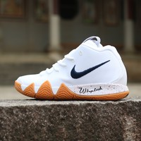Nike Zoom  Kyrie Irving 4 White   Basketball Sneaker