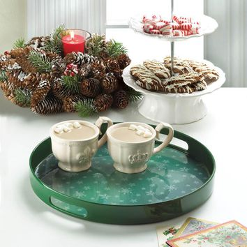 Snowflake Serving Tray