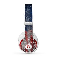 The Grungy American Flag Skin for the Beats by Dre Studio (2013+ Version) Headphones