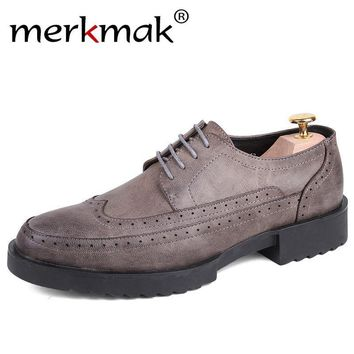 Mens Classic Oxford Anti Skid Shoes