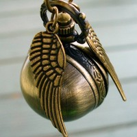 Legendary Flying ball necklace steampunk pocket watch gsr pgt