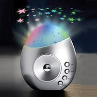 Decor Star Projector w/ Soothing Sounds - Decor Star Projector w/ Soothing Sounds - LatestBuy Australia