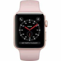 LMFGQ6 Apple Watch Series 3 Smartwatch Gold Case/Pink Watch Band - 42mm (MQK32LL/A)