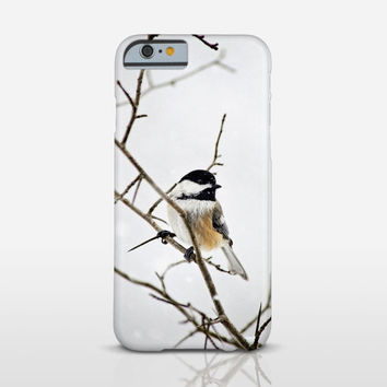 Winter Bird Phone Case, Nature Photography, Cell Phone Cover, iPhone 6 Case, Galaxy, HTC, Lumia, Moto, Nexus, Xperia Z Case