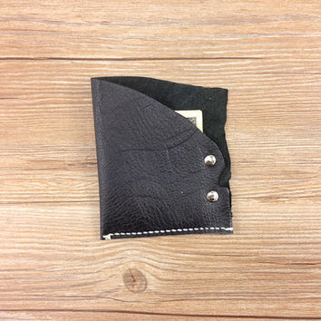 Unique leather wallet, ladies wallet, cheap purses,  pocket wallet women, black womens minimalist designer leather wallet, gifts for her