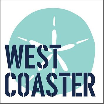 West Coaster Wooden Coaster Set | Sand Dollar